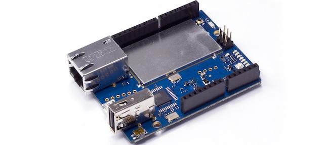 Arduino yún based wireless linux boardhardware