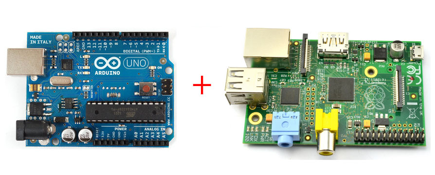 Arduino and Raspberry Pii